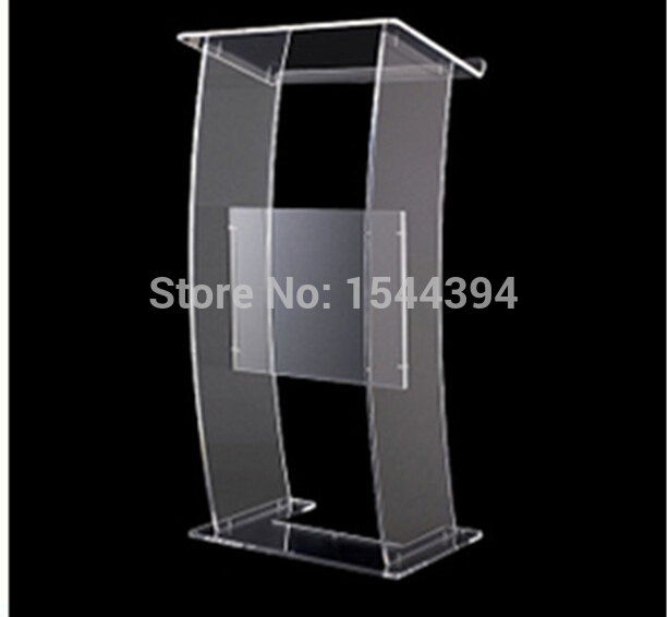 Clear Acrylic Podium Clear Acrylic Furniture Hot Sell Simple Cheap Acrylic Lectern Acrylic Podium Pulpit Lectern Podium