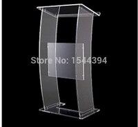 Przezroczysty akrylowy podium jasne meble akrylowe gorący bubel proste tanie akrylowe podium akrylowe podium podium podium w Meble kinowe od Meble na