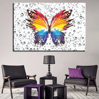 1 Pcs Abstract Butterfly Pattern Wall Art Poster Picture HD Printed Home Decor Canvas Painting Quadro Decorativo