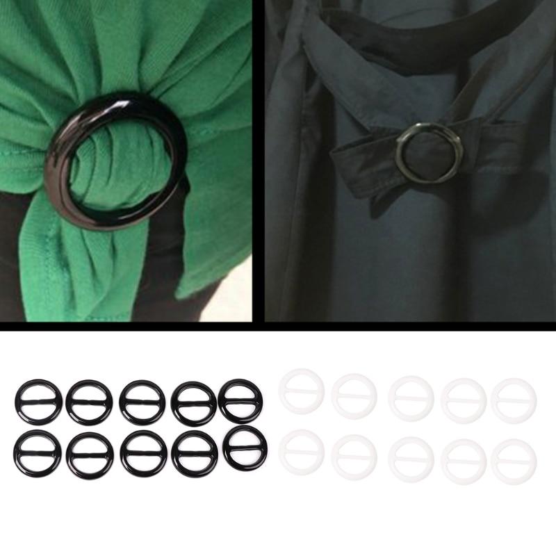 Meetee 4pcs 26mm Resin Tri-glide Buckle Belt Slider Adjustment Scarf Buckle Diy Bag Strap Garment Decor Hook Accessories Bf043 Buckles & Hooks