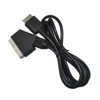 100 шт. много Scart кабель AV аудио видео кабель для playstaion 2 3 для PS2 для PS3 тонкий