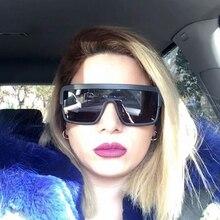 Nueva Moda Gran Marco Cuadrado gafas de Sol de Mujer de Marca Diseñador Hollow Gafas de sol UV 400 Gafas De Sol Gafas De Cristal Hembra 1052R