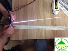 2 Led37880ix peças/lote Para Changhong LCD retroiluminado tela Tira lâmpada 73.37T07.003 0 CS1 T370hw05 60LED 1 PCS = 478 MILÍMETROS