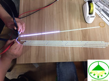 Bande de lampe LCD rétro éclairé, pour Changhong Led37880ix, écran T370hw05, 2 pièces = 60led 478MM, 2 pièces/lot