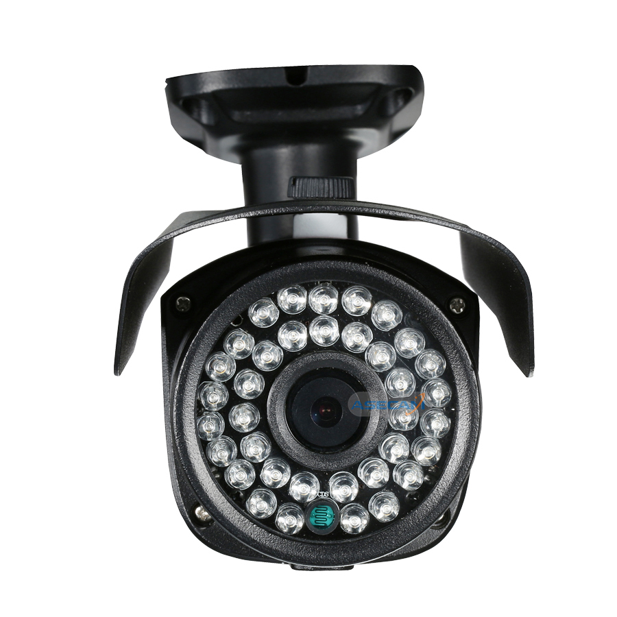Asecam Sony CCD 960H Effio 1200TVL CCTV Bullet Surveillance Outdoor Waterproof 36led infrared Security Camera