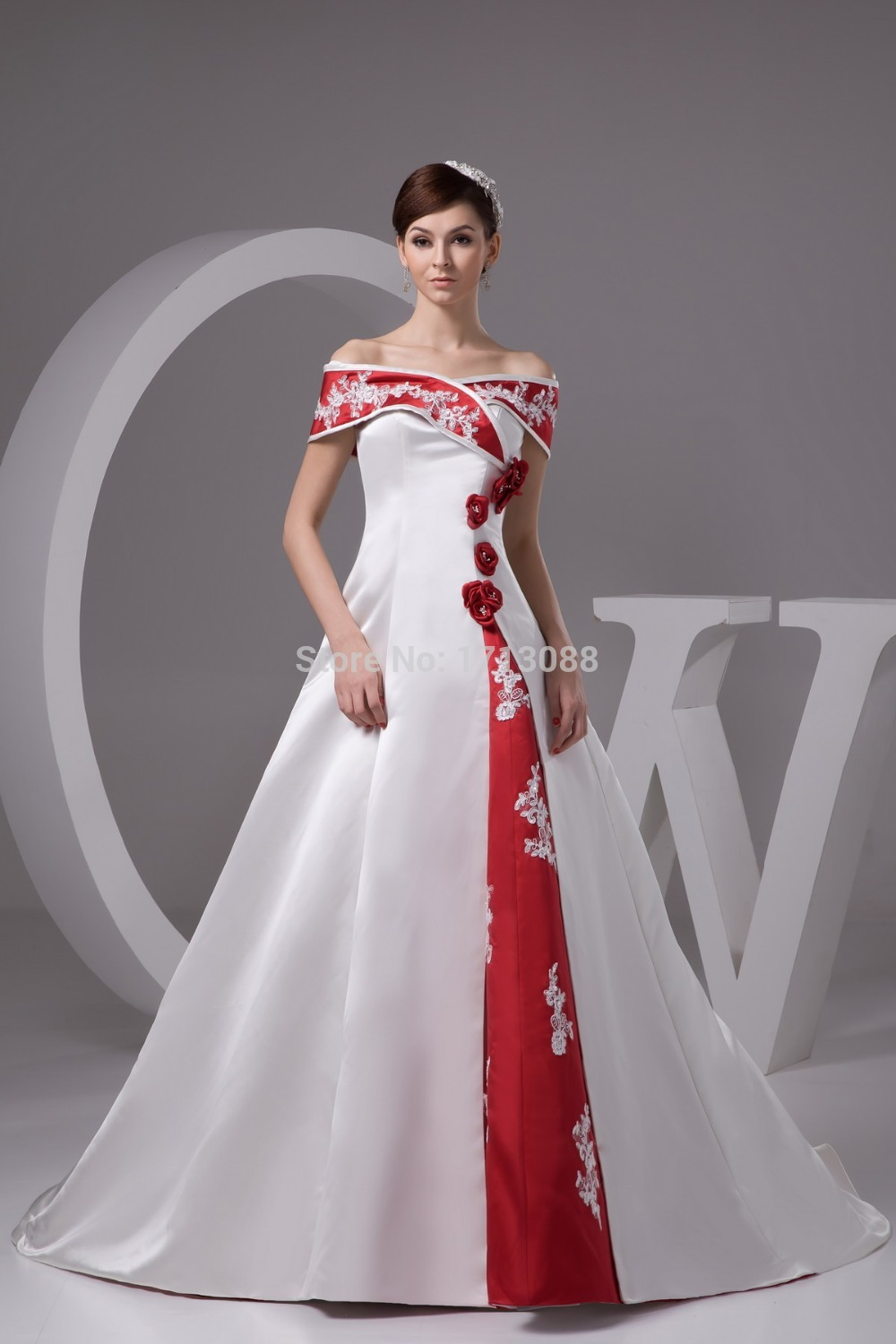 White With Red Wedding Dress Uk | Wedding