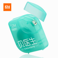 HOT Fast shipping Original Xiaomi Doctor B Dental Floss Mint flavor 50M Teeth Flosser Stick Clean Oral Care For xiaom smart home(China)