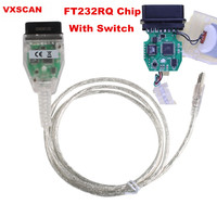 New INPA K CAN For BMW With FT232RQ Chip With Switch For BMW With 8 Pin