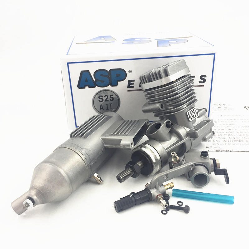 ASP 2 Stroke ASP S25AII Nitro Engine for RC Airplane Free Shipping 深入解析asp核心技术