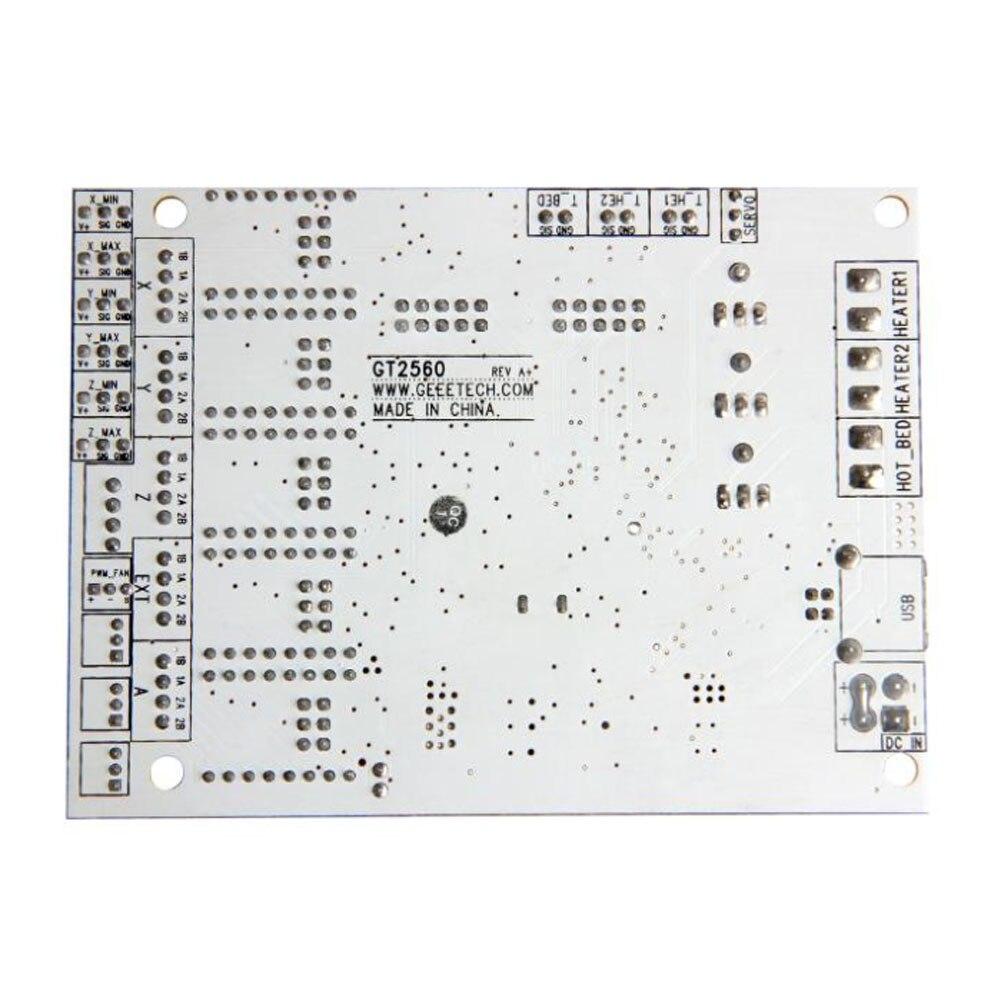 Carte mère imprimante 3D Kit GT2560 carte contrôleur + LCD 2004 + 5 Pcs DRV8825 Driver HSJ-19