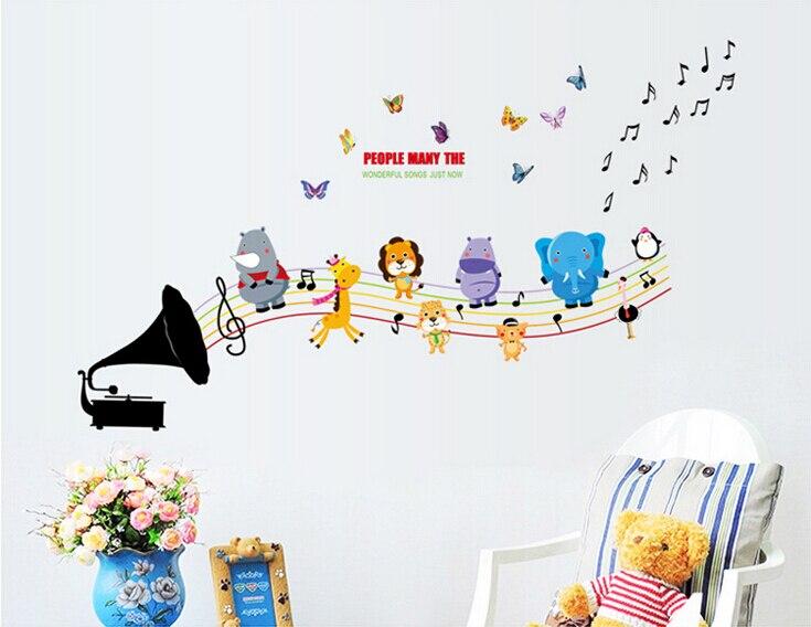 Achetez en gros notes de musique dessins anim s en ligne for Decoration murale note de musique