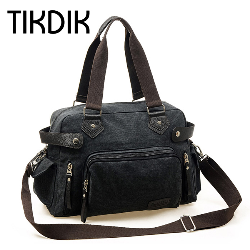 Чоловіки Подорожі Сумка PU Шкіра Vintage Висока якість Багатофункціональна Велика Ємність Сумки Сумочка Zipper Вихідні сумки багажу  t