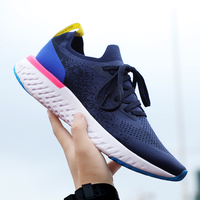 Men Shoes Women Epic React Shoes Flyknit Outdoor Sport Sneakers Breathable Mesh Couple Boots Running Shoes Women