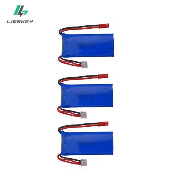 3 sztuk 7 4 V 1200 mAh akumulator li-po dla YiZhan Tarantula X6 MJX X101 X102h X1 H16 dla WLtoys V666 V262 V353 V333 V323 części zamienne tanie i dobre opinie Limskey CN (pochodzenie) Materiał kompozytowy 12 + y 18 + Baterii Bateria litowa Baterie litowo-polimerowe 70*30*18 mm