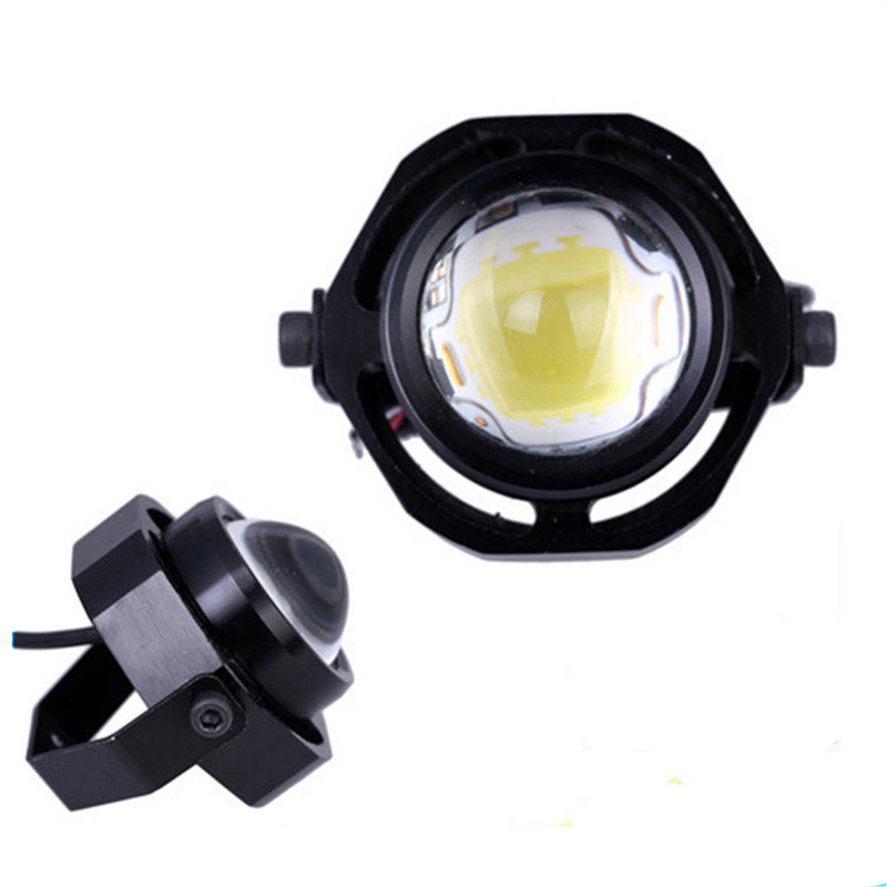 2 pcs COB 30W Led Spotlight Car Truck Motorcycle Auxiliary Headlight 12V DIY Eagle Eye Fog lamp DRL Daytime Reverse Backup Light