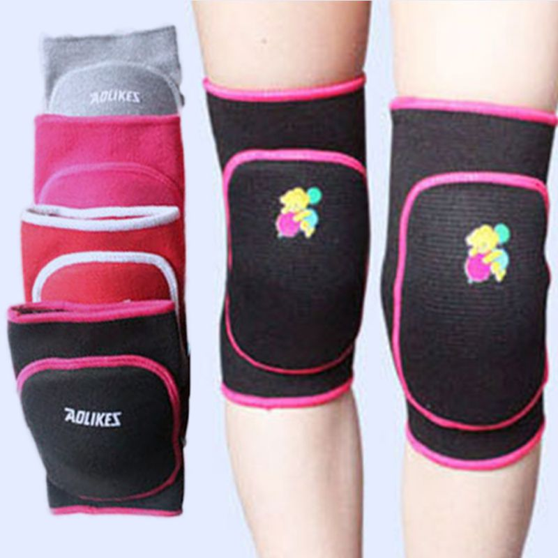 2018 Comfortable Toddler Child Kids Boy Girl Knee Pad Dance Training Games Cotton Sports Knee Pad Outdoor Sports Protection j2