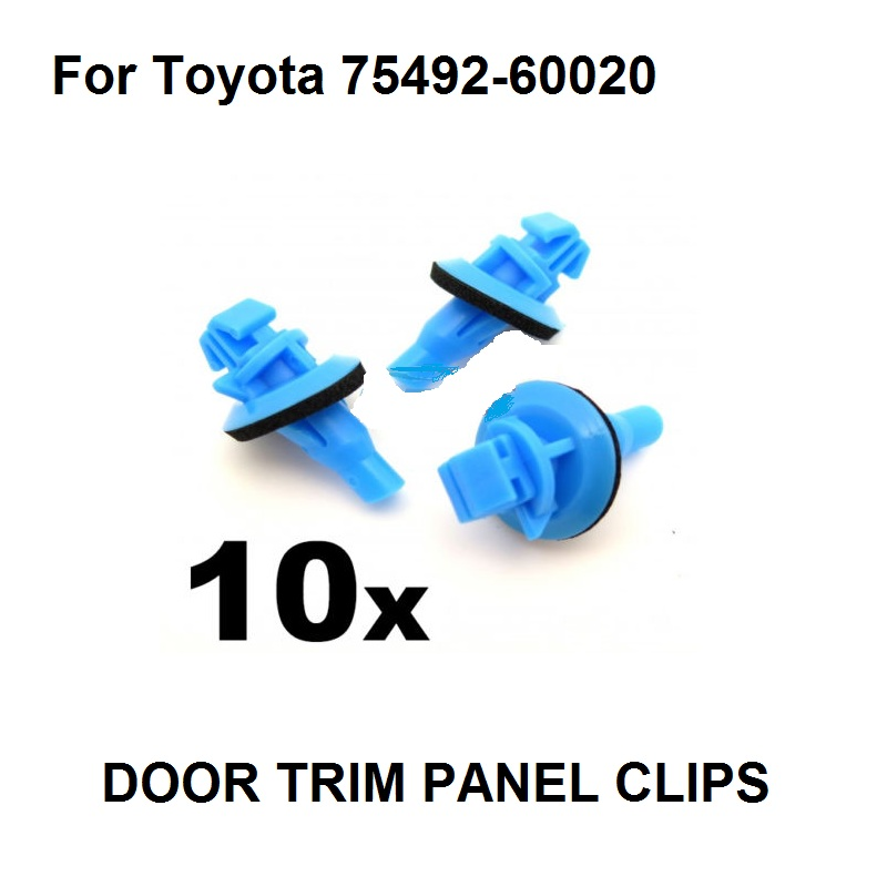 CITROEN Wheel Arch Exterior Plastic Trim Clips Moulding Front Wing 10x