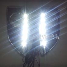 Новый для Hyundai IX35 2010-12 сид drl дневного света противотуманная фара 6 LED чип супер яркий