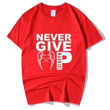 LIVERPOOL Never Give Up Madrid 19 Champs T-Shirts