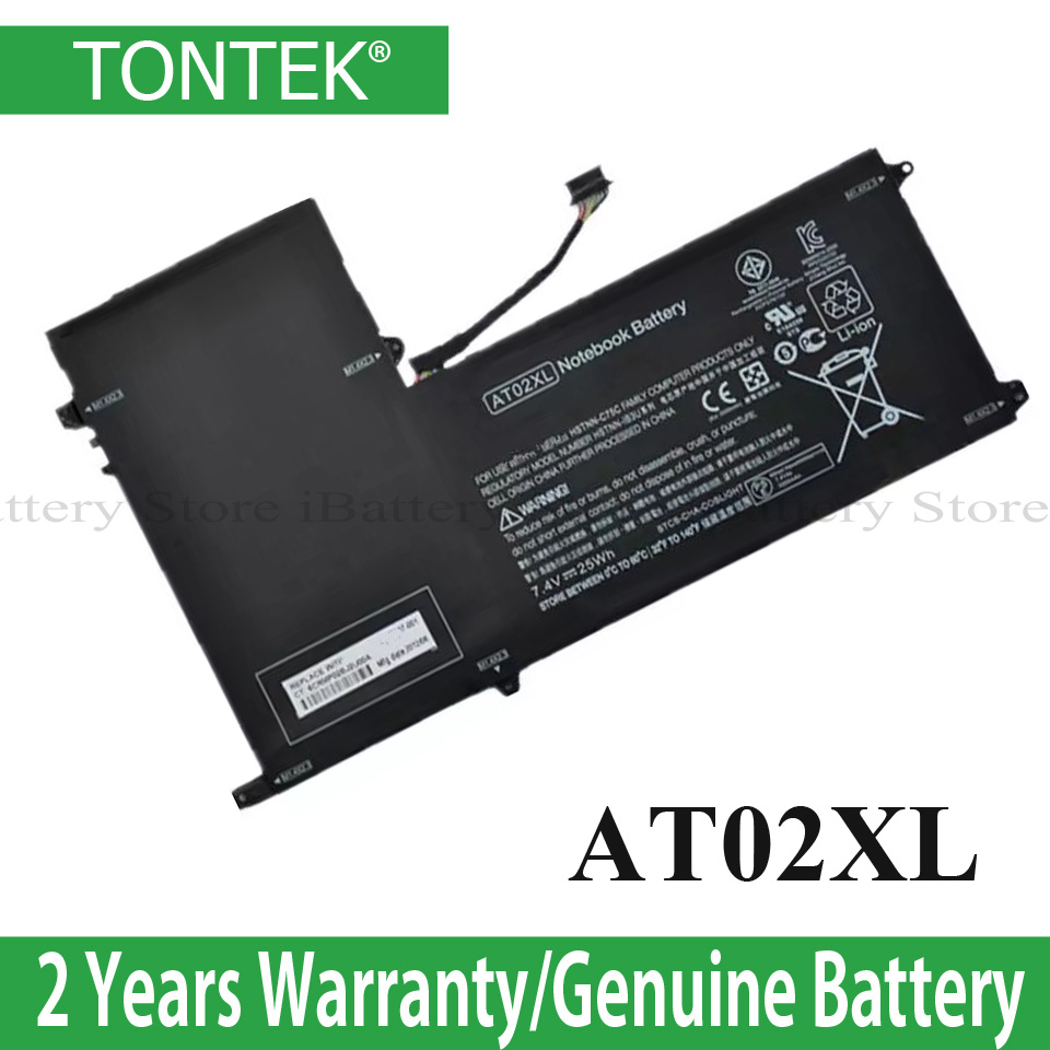 AT02XL Battery For HP ElitePad 900 G1 Table HSTNN-C75C HSTNN-IB3U