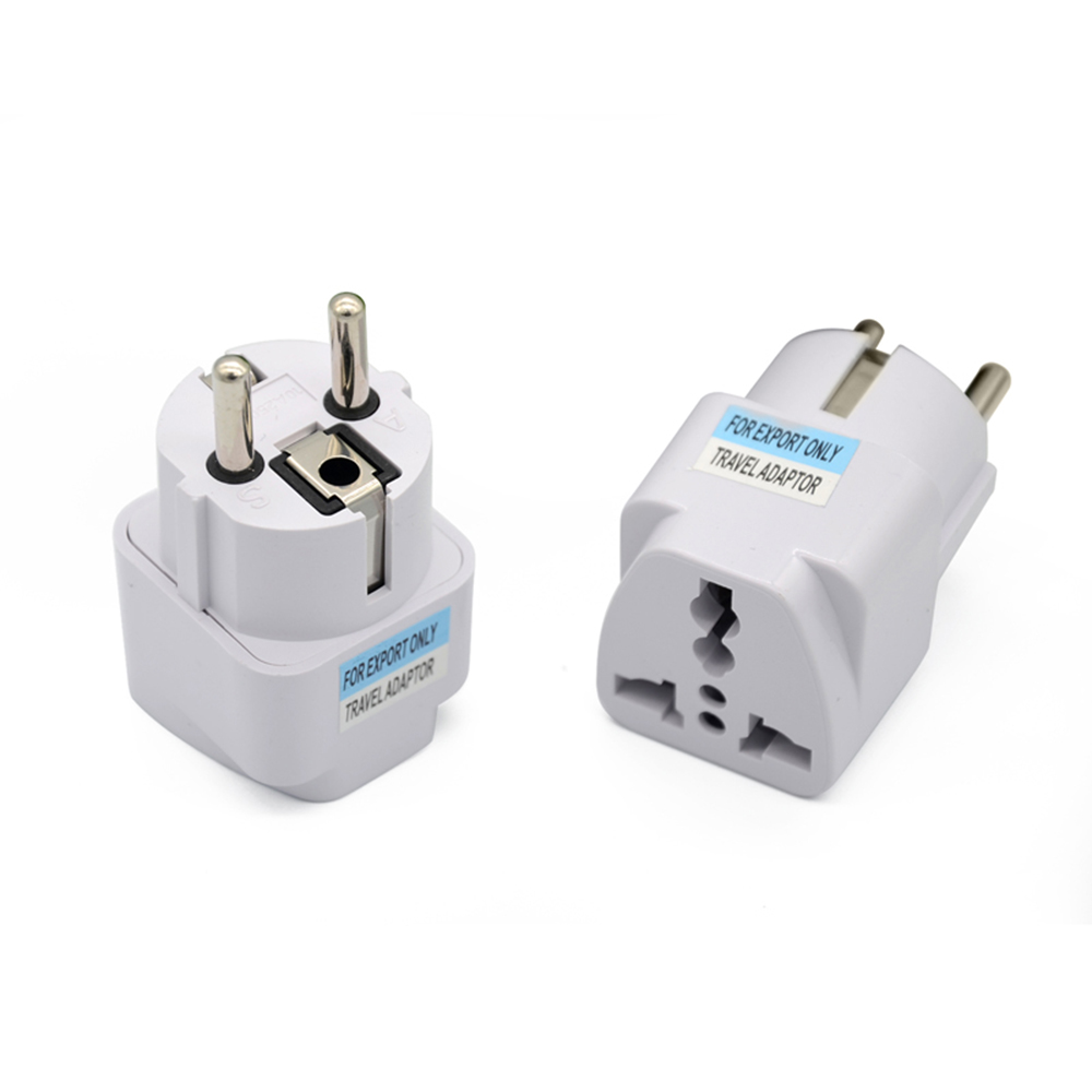 New Arrival 2016 Best Price Universal UK US AU to EU White European Charger Power Socket Plug Power Adapter Travel Converter
