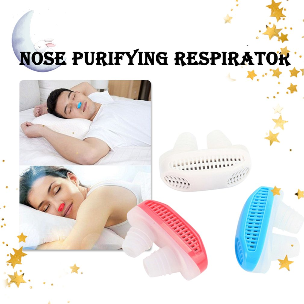 Ingenious Relieve Snoring Nose Snore Stopping Breathing Apparatus Guard Sleeping Aid Mini Snoring Device Anti Snore Silicone High Safety