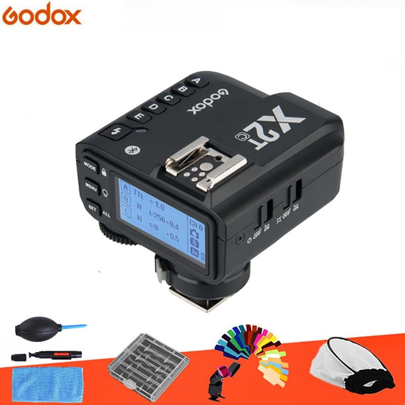 Предпродажа, Godox X2T-F TTL 1/8000s 2,4G, беспроводной триггерный передатчик для камер Fuji DSLR и Godox TT350F