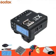 In lager Godox X2T-C TTL 1/8000 s 2,4G Wireless Trigger Sender für Canon DSLR Kameras flash TT685 TT350 V860II TT600 AD200