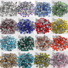 SS6 SS30 Bulk Packing High quality Hotfix Rhinestones A++ Crystal stones Wholesale Used For Clothe accessories Decoration