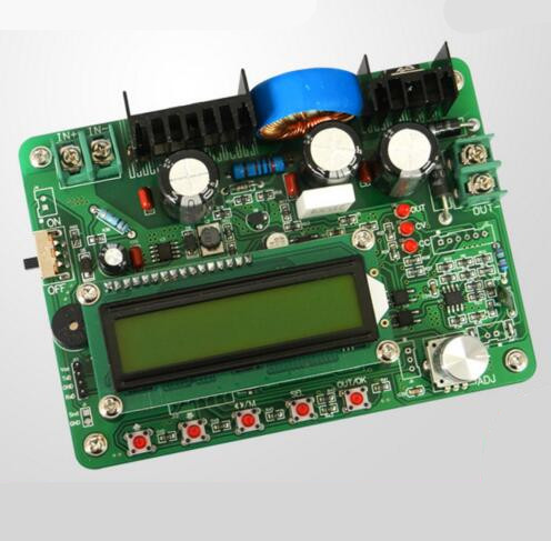 5PCS ZXY6005S upgraded version ZXY6005 Constant Voltage Current  Power Supply Module With Heat Sink Voltmeter ammeter 60V 5A 5pcs zxy6005s upgraded version zxy6005 constant voltage current power supply module with heat sink voltmeter ammeter 60v 5a
