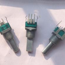 Free Ship 10pcs/lot For ALPS RK 09 type Single league B10K with midpoint and without midpoint Single uniton Potentiometer 20MM