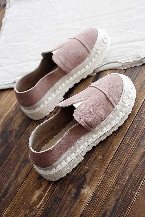 Careaymade sıcak, 2020 yaz yeni el yapımı yumuşak taban rahat ayakkabılar, kadın hakiki deri düz tek ayakkabı, 3 renk