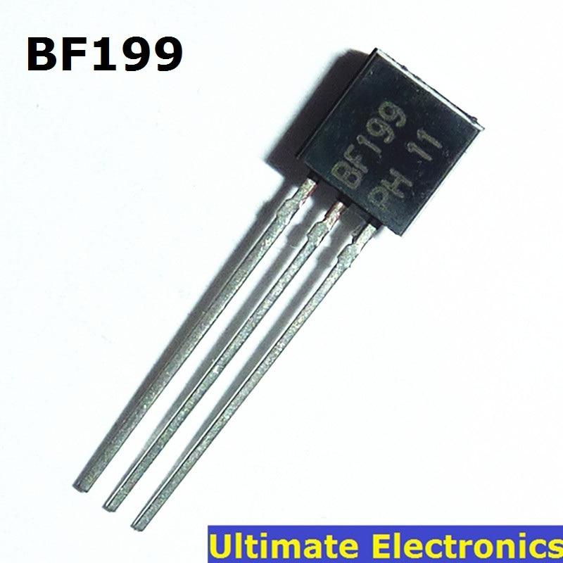 10pcs BF199 TO-92 NPN Medium Frequency Transistor
