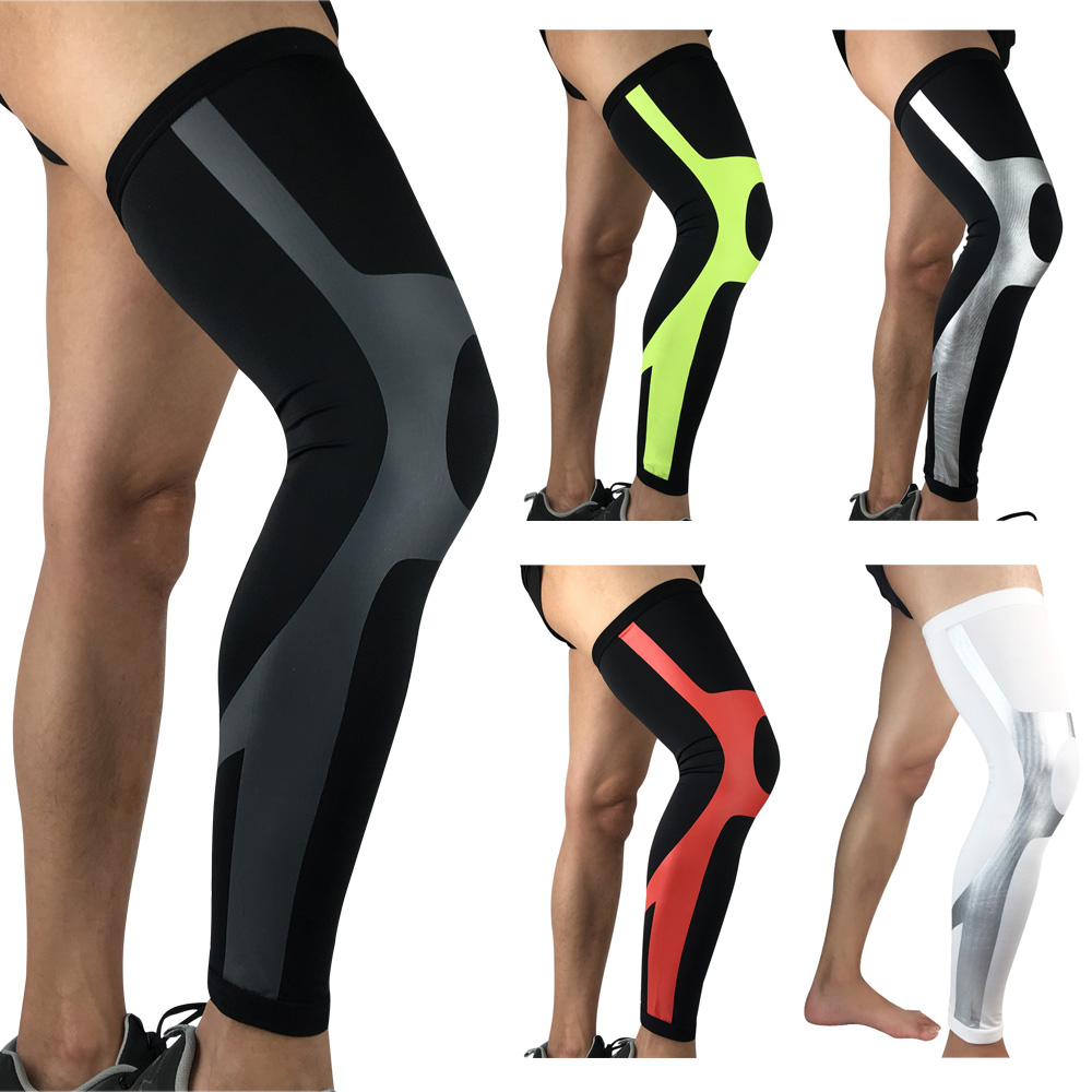 Sports Knee Pads Elastic Compression Thigh Leg Sleeve Sports Protective Gear SPSLF0058