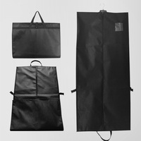 Large Nonwoven Folding Storage Bag Clothe Garment Capacity Travel Sports Handbag