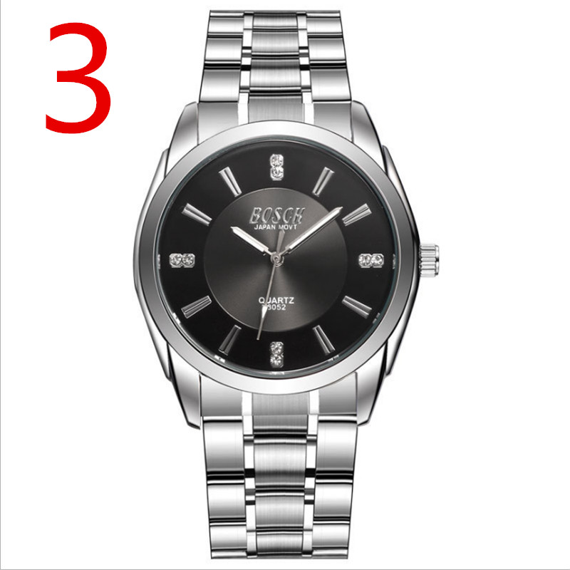 Double calendar watch male luminous waterproof business casual mens watch ultra-thin steel with imported movement quartz watchDouble calendar watch male luminous waterproof business casual mens watch ultra-thin steel with imported movement quartz watch