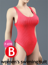 1:6 Woman Swimsuit Underwear Clothes Set 1/6 Female Sexy Cool One-piece For 12 Action Figure Toys Accessories