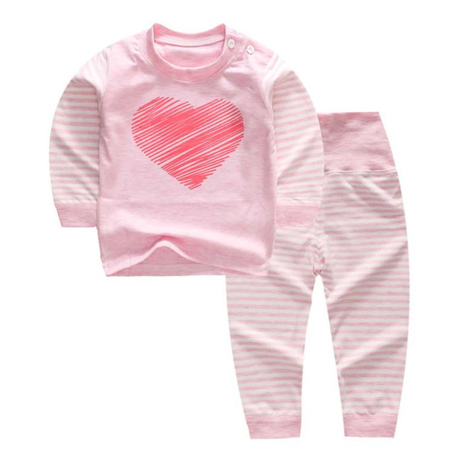 Girl's Long Sleeve Pajamas Sets