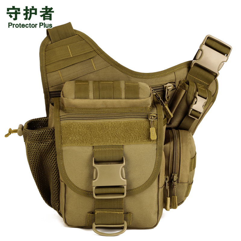 DSLR Tactical Camouflage Camera Pack Women Messenger Bag Men Outdoor Sport Bags Waterproof Nylon Saddle Bag S046 light waterproof women s small crossbody bag camouflage fresh outdoor brand bag sport college style oxford hobos messenger bag
