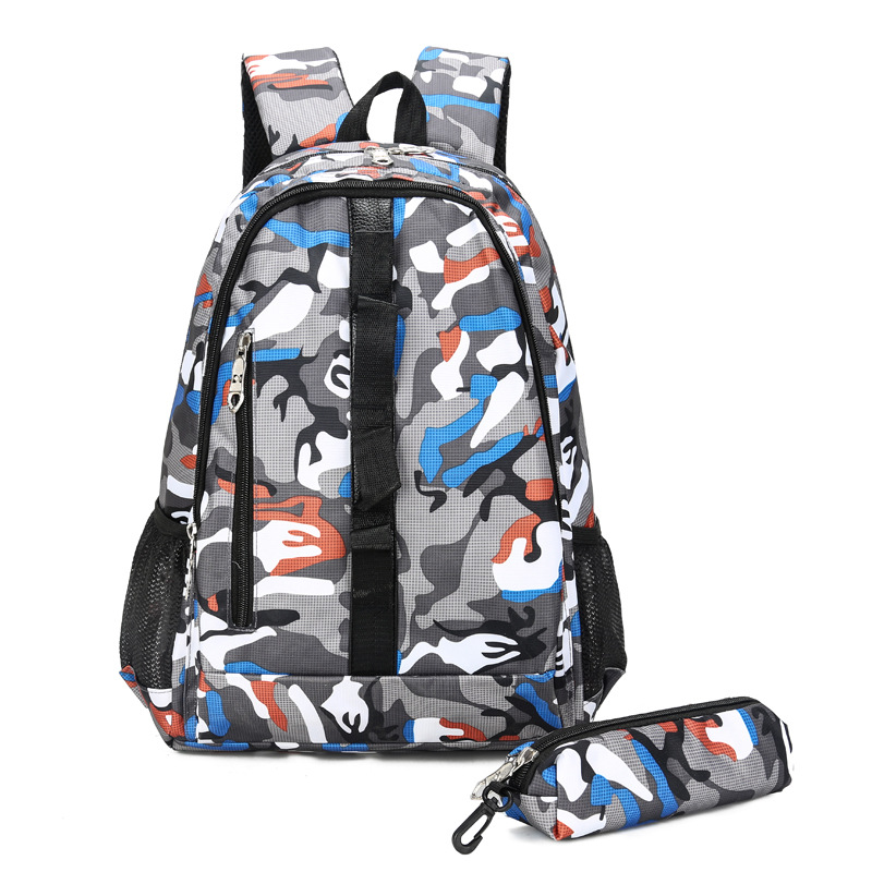 Large Capacity Army Camouflage Backpack Waterproof Nylon Lightweight Men Travel Fitness Bag School Bag For Women Gym