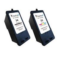 18C0034 18C0035 Refillable Printer Ink Cartridge For Lexmark 34 35 P4330 P4350 P6200 P910 X5070 X5075