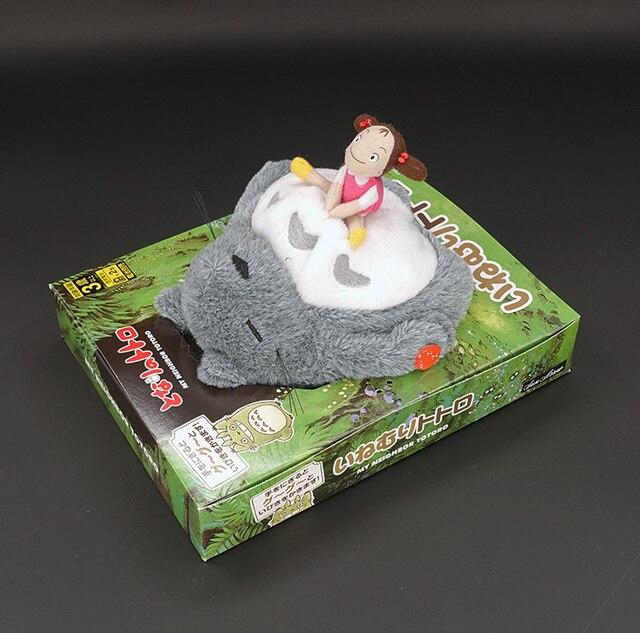 Funny Snoring Miyazaki Totoro Sound Electric Sleeping Figure Plush Doll Shocker Toys Anime My Neighbor Totoro Baby Appease Toy