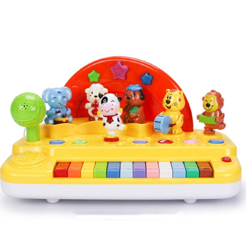 Piano électronique son bébé jouet enfants clavier musique chantant jouets éducatifs pour enfants Instrument illumination apprentissage jouet
