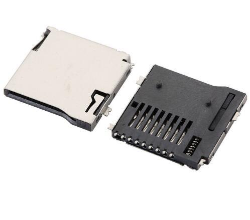Generic 20PCS//lot,for SIM Card Reader LG G3 D850 D855 F400 Connector Socket Contact Module
