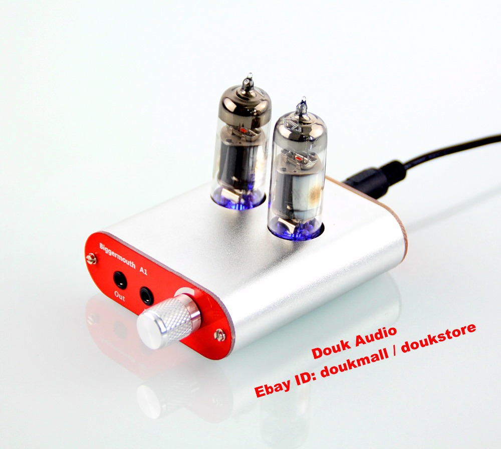 6J5 Class A tube headphone amplifier Decode audio HIFI DIY ...