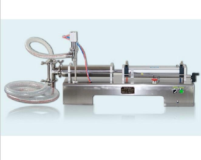 5-100ml Single head horizontal pneumatic liquid Filler shampoo water head 5 285058