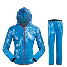Home Garden - Household Merchandises - Waterproof Outdoor Sports Raincoat Men/women Rain Jacket Rainwear Cycling Motorcycle Raincoat Sets Adult Outdoor Rain Coat