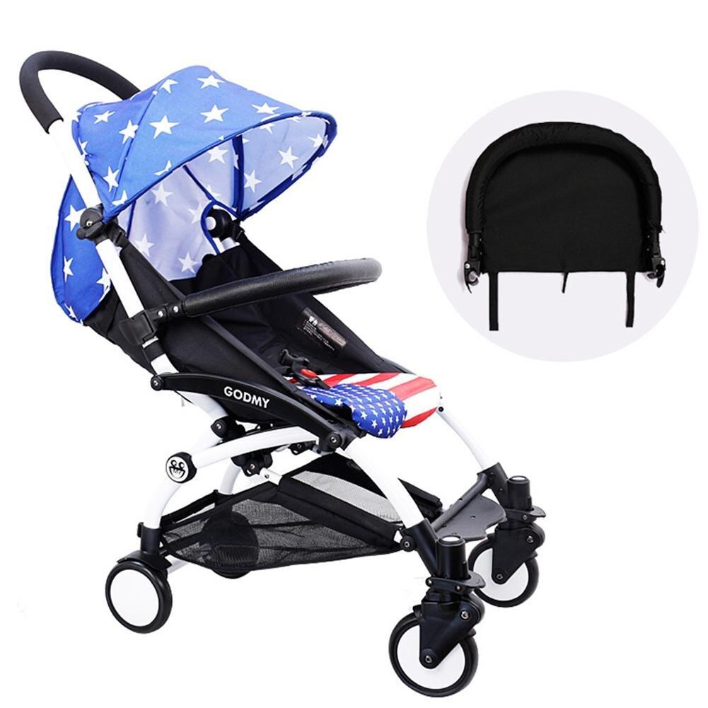 Baby Stroller Armrest Foot Support Stroller With Umbrella
