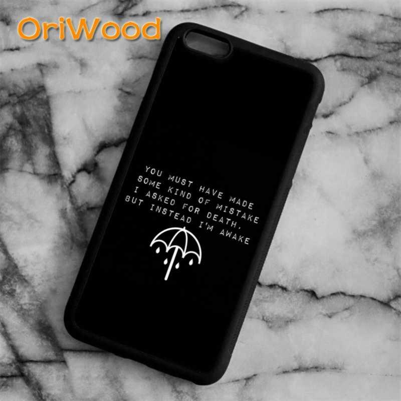 OriWood me trae a la horizon BMTH cubierta de la caja para iPhone 6 S 7 8 plus X XR XS 11 pro max samsung Galaxy S6 S7 S8 S9 S10 plus