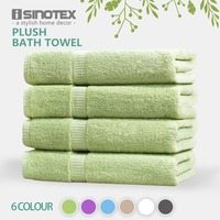 ISINOTEX 100% Egyptian Cotton 6 Colors Bath Towel 70x140cm Quick Dry Adults Washclothes Gift Wrapping 620GSM 4packs